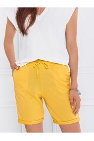 Pantaloni scurti femei WLR011 - galben