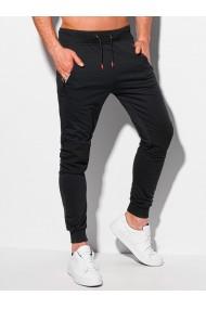 Pantaloni de trening barbati P1086 - negru