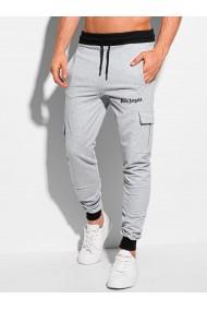 Pantaloni de trening barbati P1092 - gri