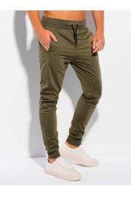 Pantaloni de trening barbati P989 - verde