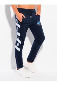 Pantaloni de trening barbati P1119 - bleumarin