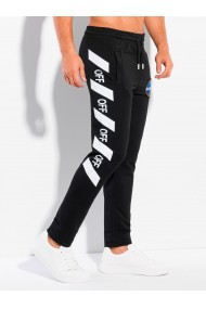 Pantaloni de trening barbati P1119 - negru