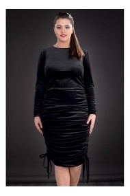 Rochie din catifea Irene 81271ng