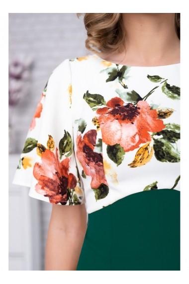 Rpchie cu imprimeu floral Amara 91398vd