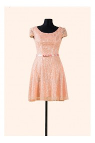 Rochie din dantela cu fusta clos - Sonia 51452prs