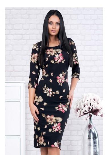 Rochie pe corp cu imprimeu floral - Ariela X91582ng