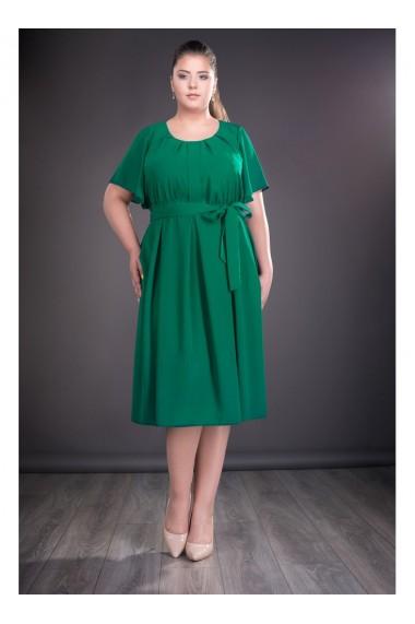 Rochie verde din voal RAISA X81203VD