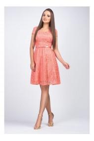 Rochie din dantela cu fusta clos Sonia 51452SOM
