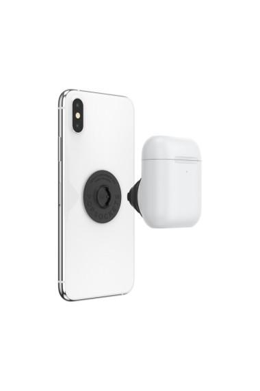 POPGRIP AirPods Holder White Accesoriu de telefon PopSockets original Alb