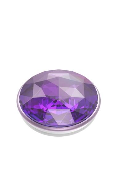 POPGRIP Disco Crystal Orchid Accesoriu de telefon PopSockets original Mov