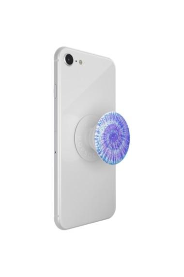 POPGRIP Glitter Twisted Tiedye Accesoriu de telefon PopSockets original Mov