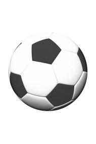 POPGRIP Soccer Ball Accesoriu de telefon PopSockets original Alb