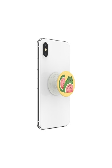 POPGRIPCatermelon (Gloss) Accesoriu de telefon PopSockets original Galben