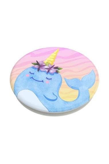 POPGRIPNarwhal Princess Accesoriu de telefon PopSockets original Albastru