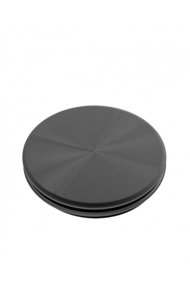 PopGrip Backspin Aluminiu accesoriu de telefon original PopSockets Negru