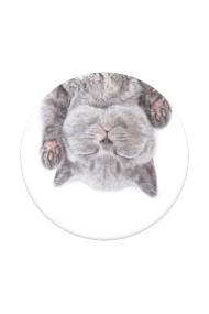 PopGrip Cat Nap accesoriu de telefon original PopSockets Alb