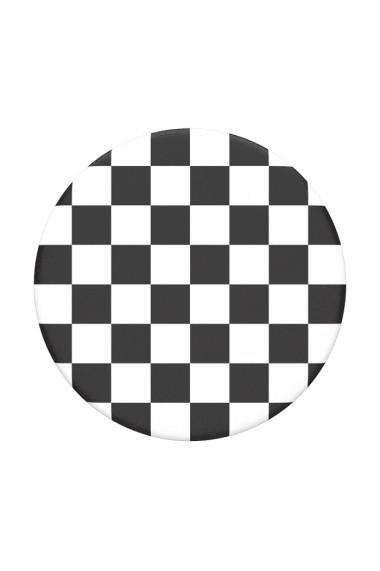 PopGrip Checker Black accesoriu de telefon original PopSockets Negru