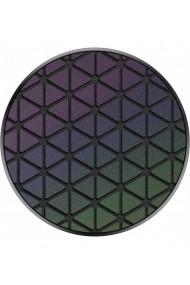 PopGrip Techno Grid Chromatic accesoriu de telefon original PopSockets Negru
