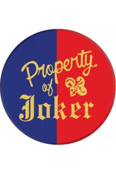 Popsockets PROPERTY OF JOKER Colectia Suicide Squad Multicolor