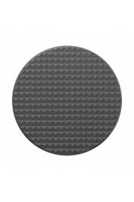 POPGRIP Knurled Texture Black Accesoriu de telefon original PopSockets