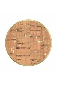 POPGRIPMetallic Cork Gold Accesoriu de telefon original PopSockets cu aspect de pluta
