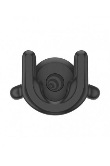 Suport ventilatie masina negru PopSockets original compatibil cu toate PopGrip-urile