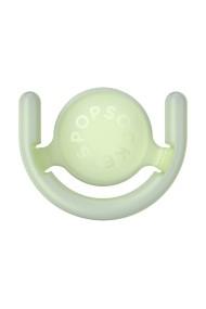 Suport suprafete verticale compatibil cu PopGrip verde fosforescent Verde