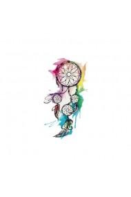 Tatuaj temporar Colourdful Dream Catcher Multicolor 6x10.5cm pentru piele
