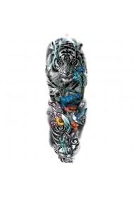Tatuaj temporar Empower the Beauty dimensiune mare pentru brate sau picioare Look de Festival