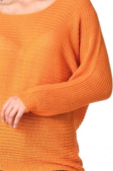 Pulover ModaRoom MR110 portocaliu