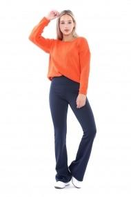Pantaloni Sense Pnt14695 Bleumarin