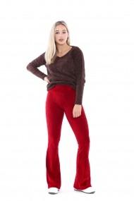 Pantaloni Sense PNT32305 Bordo
