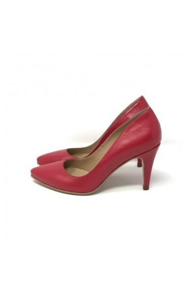 Pantofi cu toc Verogia Maia Rosii