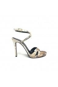Sandale cu toc Verogia Electra Snake