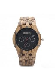 Ceas din lemn Bobo Bird cu curea din lemn N11