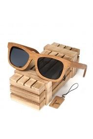 Ochelari de soare din lemn Bobo Bird BG003 lentila gri