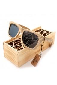Ochelari de soare din lemn Bobo Bird AG007 lentila gri
