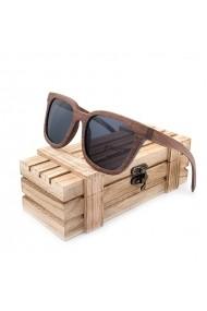 Ochelari de soare din lemn Bobo Bird lentila neagra