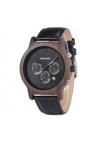 Ceas din lemn Bobo Bird crono P28-1