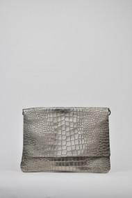 Geanta plic de umar ELES & CO BAGSP002 Argintie