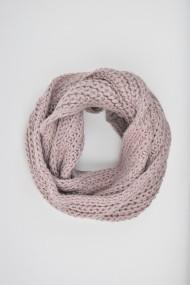 Fular tricotat ELES & CO ASTR010 Roz