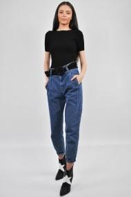 Jeans denim cu curea funda ELES & CO JFB001