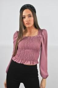 Bluza eleganta ELES & CO MER001 Roz