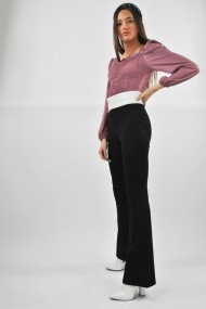 Pantaloni skinny eleganti ELES & CO PEN001 Negri