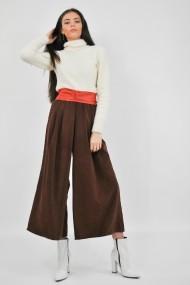 Pantaloni largi ELES & CO PPM001 Maro