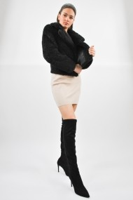 Palton scurt ELES & CO CACN001 Neagra
