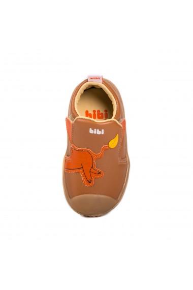 Pantofi Baieti Bibi Prewalker Caramel Lion