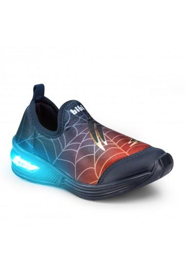 Pantofi Baieti LED Bibi Space Wave 2.0 Spider
