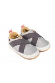 Pantofi Baietei Bibi Afeto Joy Grafit