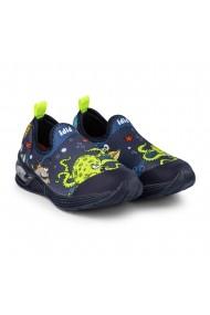 Pantofi Baieti LED Bibi Space Wave 2.0 Marine